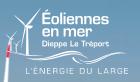Eolien en mer-Dieppe le Tréport